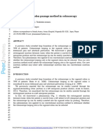 Linear Sigmoid Colon Passage Method in Colonoscopy (CR 2014)
