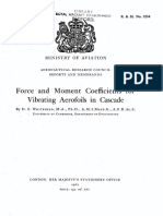 1960-Force and Moment Coefficients for Vibrating Aerofoils in Cascade