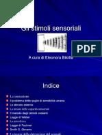 stimoli sensoriali