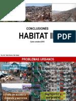 Conclusiones Habitat III 23.10.16