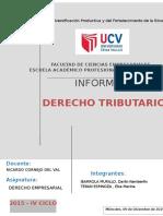 Informe Derecho Empresarial