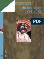 Los Afroandinos de Los Siglo XVI Al XX - 2004- UNESCO