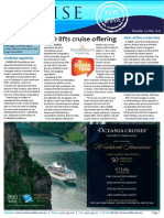 """Cruise Weekly for Tue 23 May 2017 - Helloworld lifts cruise offering, New active cruise line, Sydney situation """"critical"""", P"""