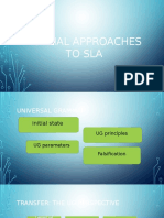 FORMAL APPROACHES TO SLA ....pptx