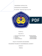 Management Introduction Paper