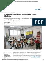 Escola sem partido_ A educação brasileira no centro de uma guerra ideológica _ Brasil _ EL PAÍS Brasil.pdf