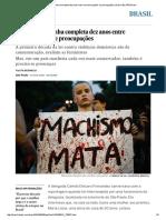 Lei Maria da Penha completa dez anos entre comemorações e preocupações _ Brasil _ EL PAÍS Brasil.pdf
