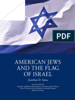 American Jews and Flag of Israel