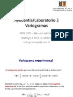 3. Variogramas