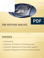 Time Response Analysis