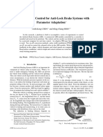 PID_type Fuzzy Control for Anti-lock Brake Systems With Parameter Adaptation