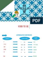 Class 2 Basic English - Verb to Be