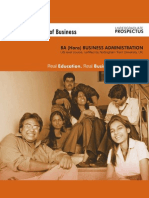 Business Admin Brochure