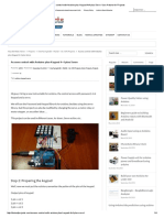 Access Control With Arduino Plus Keypad 4x4 Plus Servo -Use Arduino for Projects