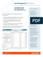 Laserfiche Records Management Factsheet