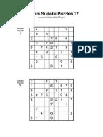 Medium Sudoku 017