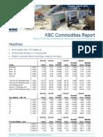 JUL 27 KBC Commodities Report
