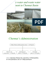 Sustainable Water Resources Management of Chennai Basin