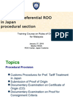 Revise_【Set】27th_1-2 Outline of Preferential ROO in Japan (Procedural Section)