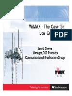 TI-WiMAX Asia Presentation