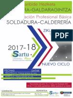 Formación Profesional Básica. Soldadura-Calderería