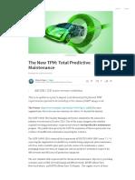 The New TPM_ Total Predictive Maintenance _ Shawn Rogers _ Pulse _ LinkedIn