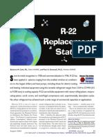 R22 Replacement Status