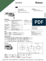 Kubler Standard Counters