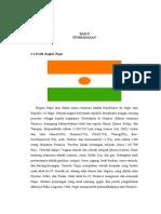Profil Negara Niger