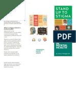 media campaigns- brochure