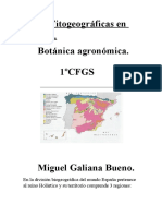 Areas Fitogeograficas en ESPAÑA