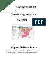 Areas Fitogeograficas en ESPAÑA