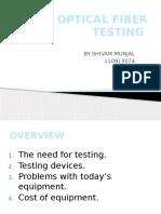Fiber Testing