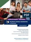 Informator 2017 - Studia II Stopnia - Wyższa Szkoła Bankowa w Poznaniu