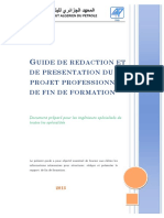 Guide Projet Fin Formation