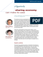 How the Sharing Economy Can Make Its Case