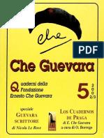 Quaderno n° 5 della Fondazione Ernesto Che Guevara [anno 2002/03]