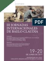 IIIas Jornadas internacionales de Baelo Claudia