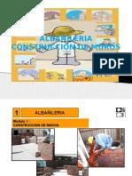 Albañileria Construccion de Muros
