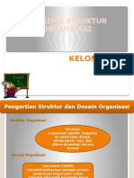 DESAIN & STRUKTUR ORGANISASI