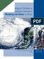 Modelagem Climática e Vulnerabilidade Setoriais à Mudança Do Clima No Brasil