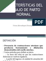 Características Del Trabajo de Parto Normal
