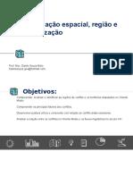 Aula - Diferenciação espacial, região e regionalização