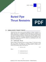 Thrust Block Design
