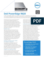 Dell PowerEdge R620 Spec Sheet PT BR