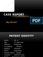 Case Report DR