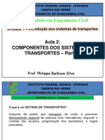 Componentes Dos Sistemas de Trasnportes
