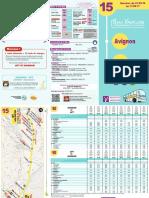 Horaires Ligne Apt Avignon 2016 2017