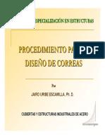 Diseño de Correas
