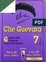 Quaderno n° 7 della Fondazione Ernesto Che Guevara [anno 2007/08]